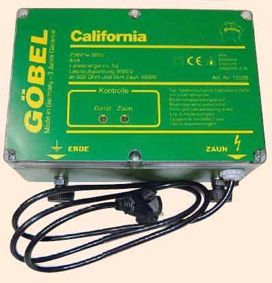 Starkes Weidezaun Netzgerät für Elektrozaun Schafnetz Bison N 8000 MC